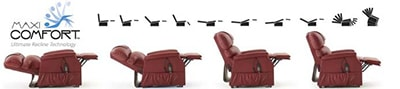 Maxi Comfort Ultimate Recline Technology
