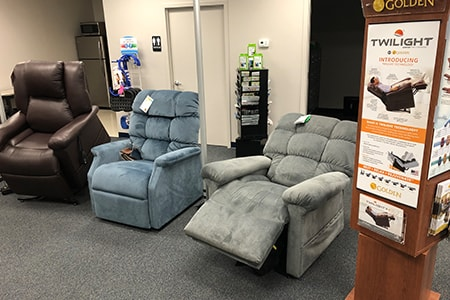 Preferred Mobility Showroom Recliners